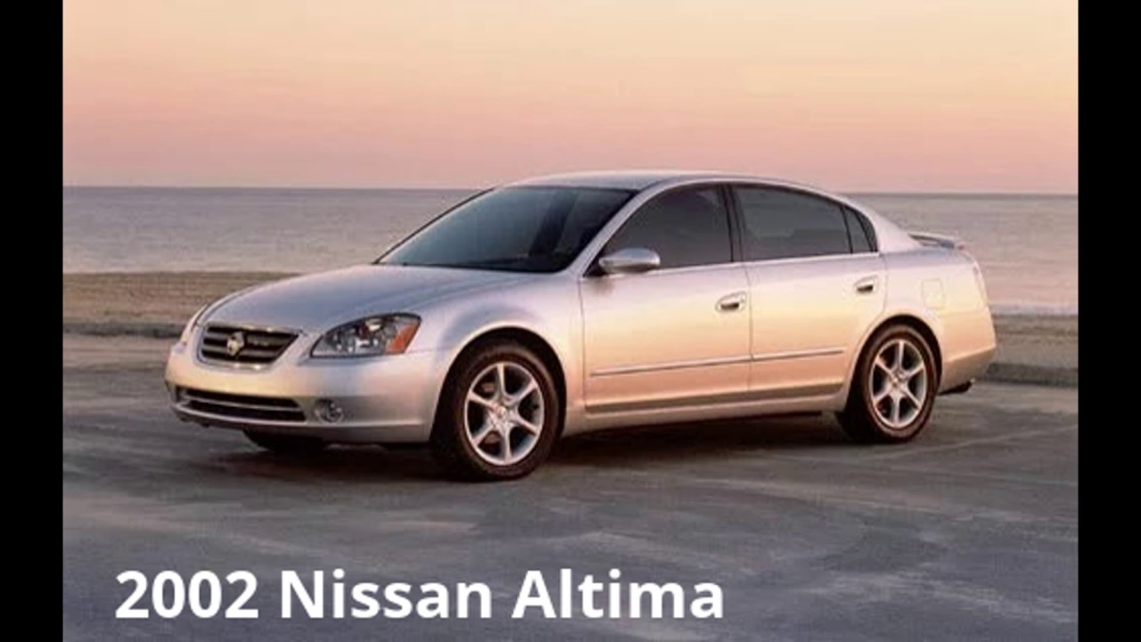 years of nissan altima - 1995-2017 - gtn - 2017 - youtube