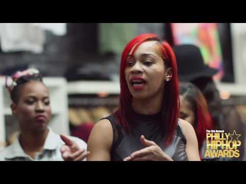 2016 Urban Celebrity Magazine Philly Hip Hop Awards Female Cypher at STATUS Shop