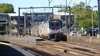 Morning rush on Amtrak's NEC! 6/29/18