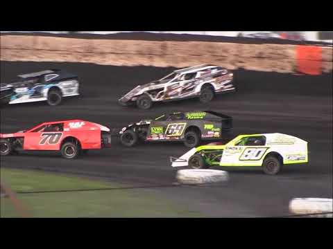 Fairbury American Legion Speedway Modified  Heat Races  8  12 17