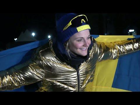 """Stina Nilsson om OS-guldet: """"Jag ska vara ödmjuk"""" - TV4 Sport"""