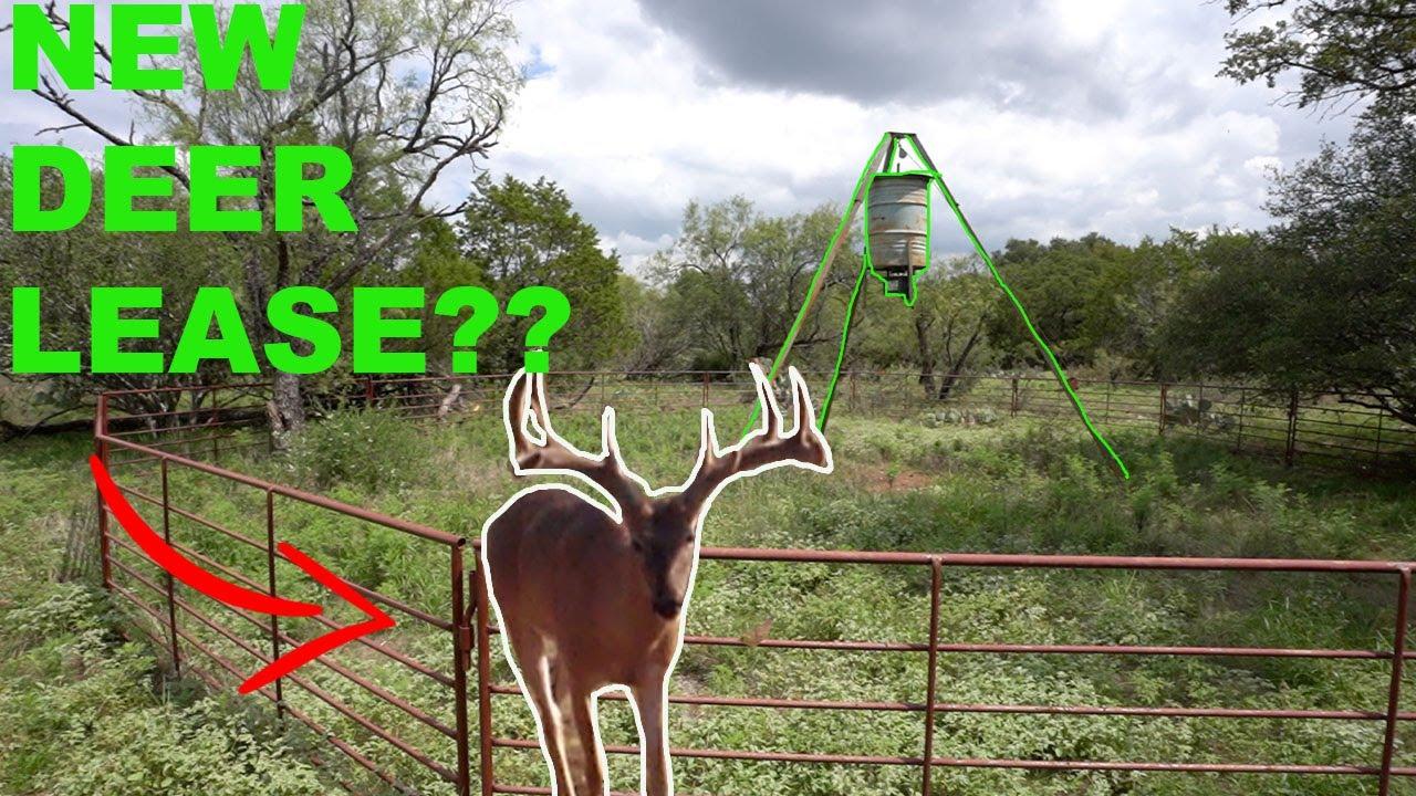 My NEW DEER LEASE {Prepping For Deer Season}