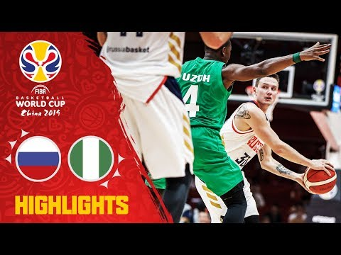 Russia v Nigeria - Highlights - FIBA Basketball World Cup 2019