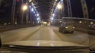 BlackSys CF-100 GPS - Питер, ночь, тест видеорегистратора(Тест видеорегистратор BlackSys CF-100 GPS от корейского производителя CAMMSYS. Официальный сайт представителей в Росс..., 2014-02-23T17:46:24.000Z)