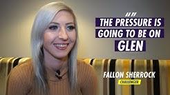 """The pressure is going to be on Glen"" | Fallon Sherrock speaks ahead of her Premier League debut"