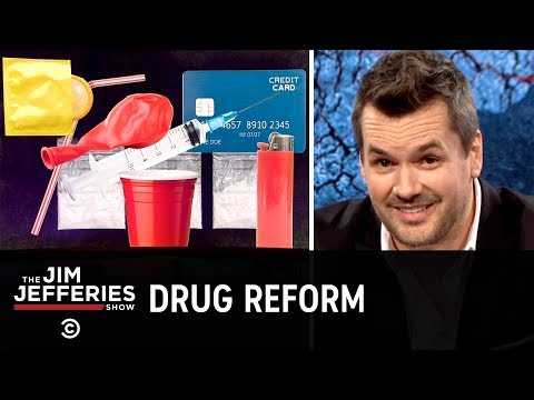 We Need to Make Drugs Seem Less Fun  - The Jim Jefferies Show