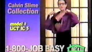 Calvin Slime sexist clothes on Career Options Home Shopping Network Spoof