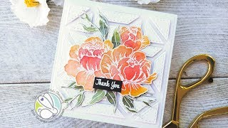 Faux Watercoloring with Ink Blending and Perfect Pearls