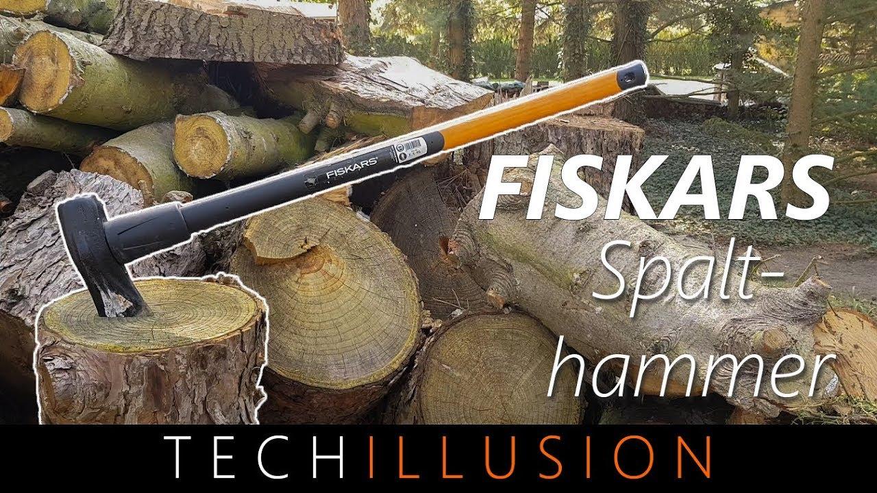 Fabulous 🛠BESTE AXT für's HOLZ HACKEN?! - Fiskars Spalthammer - Test - YouTube ZS01