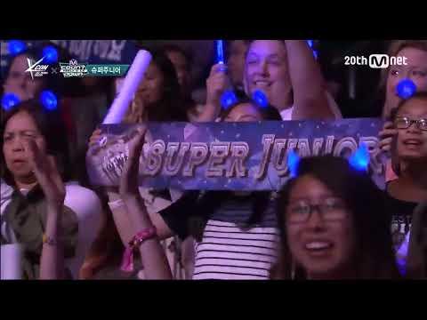 Super Junior(슈퍼주니어) - 'SORRY, SORRY' M COUNTDOWN - FEELZ in LA 150813 EP.437