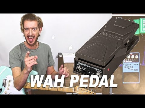 WHA WHA PEDAL - Demo and ideas for Beginners