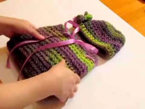 Häkelidee Hübscher Baby Cocoon Mit Schleife Und P Youtube