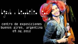 björk: sonnets/unrealities xi (Buenos Aires, 2012)