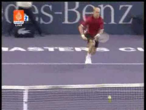 Djokovic wins ATP Masters Cup (1st Set Highlights) ATP Masters Series 2008 Theme Song