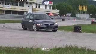 Piotr Puchałka - Mitsubishi Lancer EVO IX - SuperOES VI Runda Tor Kielce 14-06-2014