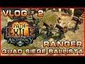 PoE | Vlog # 2 | Ranger Quad Siege Ballista Totem Build | The Ascendancy