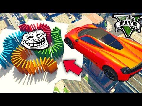 GTA V Online: LEVEI NC no LABIRINTO MAIS TROLL!!! (Race TROLL)