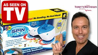 Hurricane Spin Broom Review  As Seen on TV