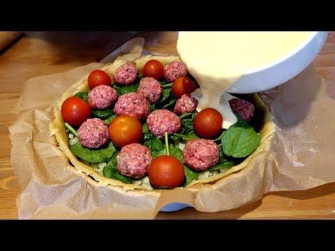 recette-incroyable-et-si-facile‼️-/-vous-allez-adorer-😋🔝-/-tarte-aux-boulettes-👌