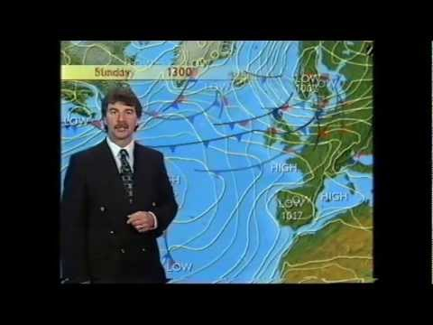 BBC Weather 4th July 1998