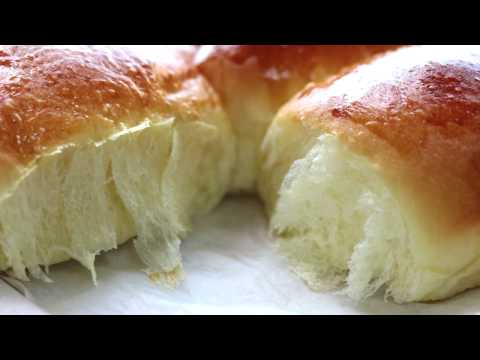 dinner rolls/milk bread recipe/bun/soft &chewy -- Cooking A Dream