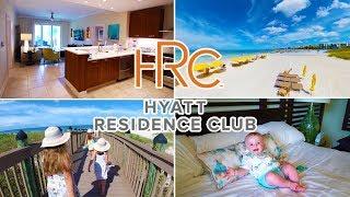 ROOM TOUR | Hyatt Residence Club Siesta Key and Trip to the Beach | Fun Family Florida