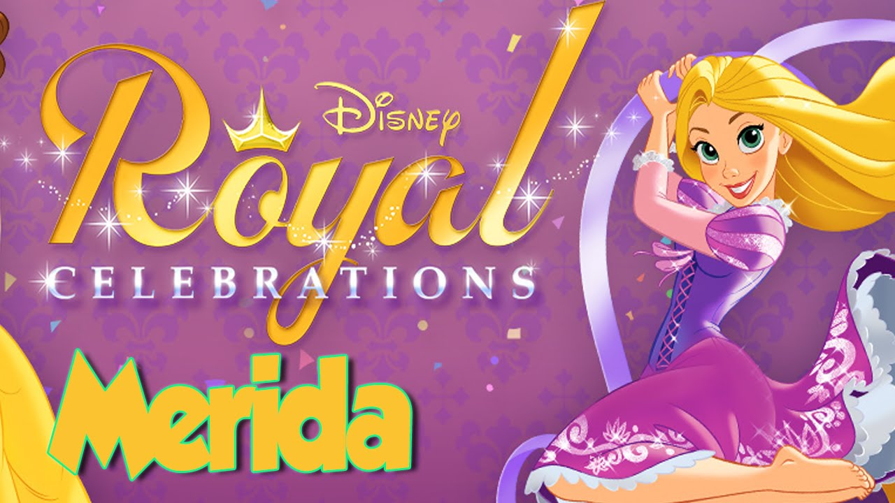 Download Disney Royal Celebrations with Princess Merida - Rainy Day Party (Game for Girls)