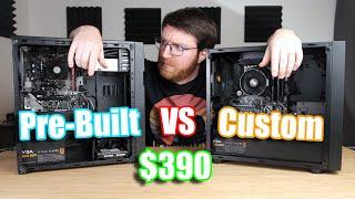 "Cheapest Amazon ""Gaming"" Pre-Built PC versus Custom-Built PC (2020)"
