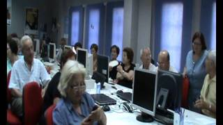 Taller uso telefono movil para mayores. Guadalinfo Turre 2011