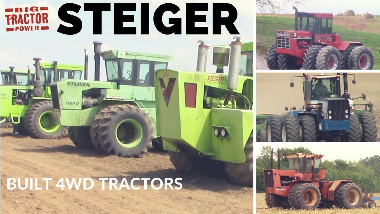 Who Did Steiger Build 4wd Tractors For?
