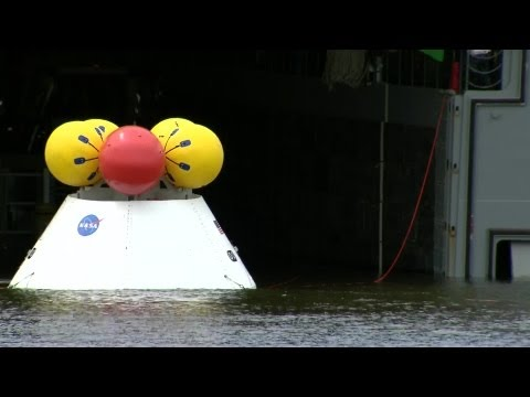 NASA Orion Spacecraft Demonstration
