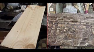 Как состарить дерево / Aging wood.(, 2015-03-29T15:20:39.000Z)