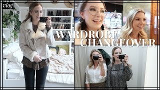 NEW WARDROBE EDIT Autumn Capsule Declutter, Planning, Shopping | The Weekly Vlog Op. 13