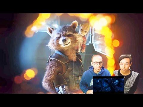 Guardians of the Galaxy Vol. 2 Sneak Peek | Reaction & Review