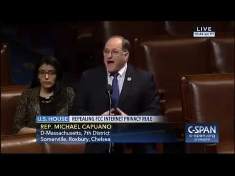 Rep. Michael Capuano Expresses Extreme Concern Towards FCC Privacy Rollback