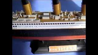 Building R.M.S. Titanic In 1:700th Scale