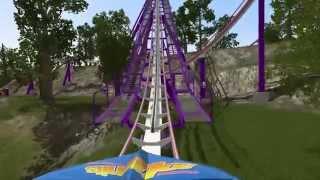 NoLimits 2 Roller Coaster Simulation Demo 02 Hybris