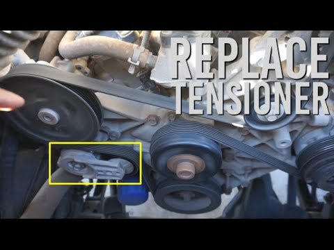 how to replace tensioner pulley on jeep jk (2007 2011) [3 8l egh v6how to replace tensioner pulley on jeep jk (2007 2011) [3 8l egh v6]