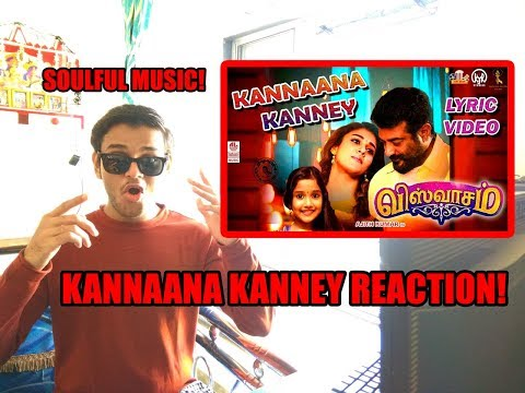 Kannaana Kanney Song with Lyrics | REACTION | Ajith Kumar, Nayanthara| Sid Sriram |