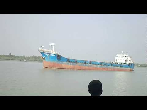 Huge Ships in Ganga (Hooghly river)