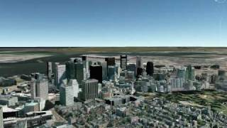 Google Earth- U.S. Cities in Day and Night