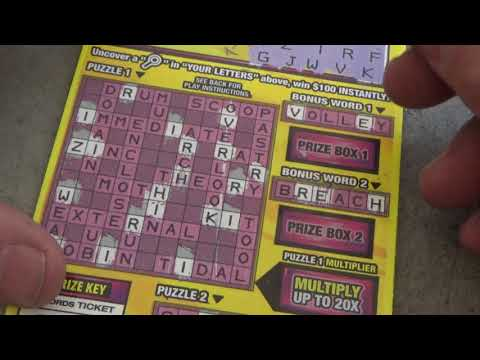 205 Lottery Scratch Off Tickets From Nevada Arcade Channel & Yoshi