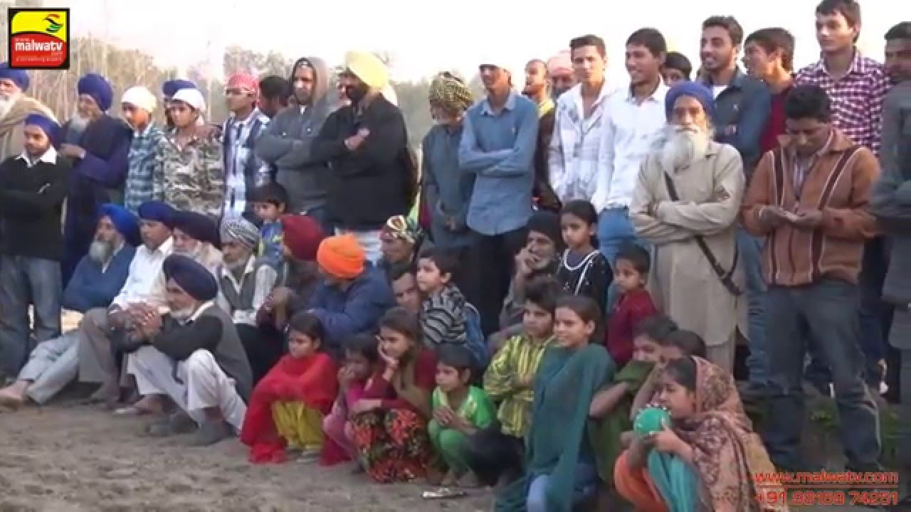 TUTO MAZARA (Hoshiarpur) Barsi Samagams - 2015    MAHALLA    HD    Part 5th.
