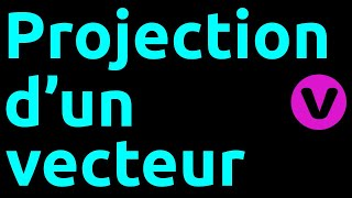 Projection de vecteurs