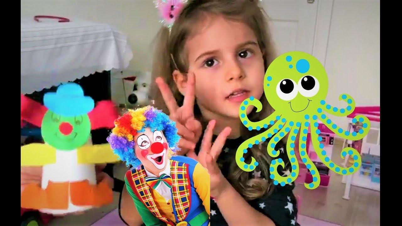 Oyuncak yapıyoruz - Bardaktan Oyuncak Yapıyoruz - Çocuk Videosu