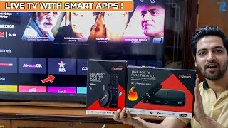 Airtel Xstream Digital Smart Box & Xstream Stick - Unboxing & Hands On   Digital + Smart TV In One !