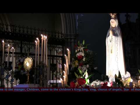 """Bayswater. """"Come to the manger"""", Christmas Carol. A Day With Mary"""