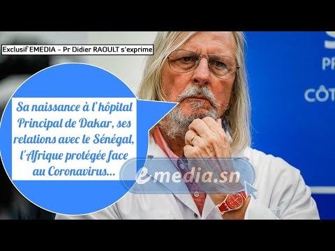 Exclusif - Pr Didier Raoult parle à EMEDIA !