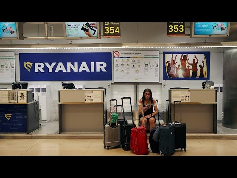 'Ryanair have no respect at all' - Brussels cabin crew join strike