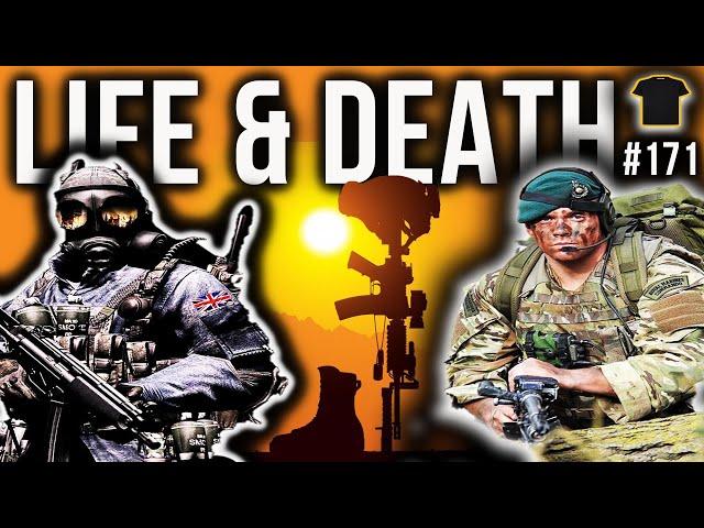 SAS Iranian Embassy Trooper & Royal Marines Commando Discuss Life & Death